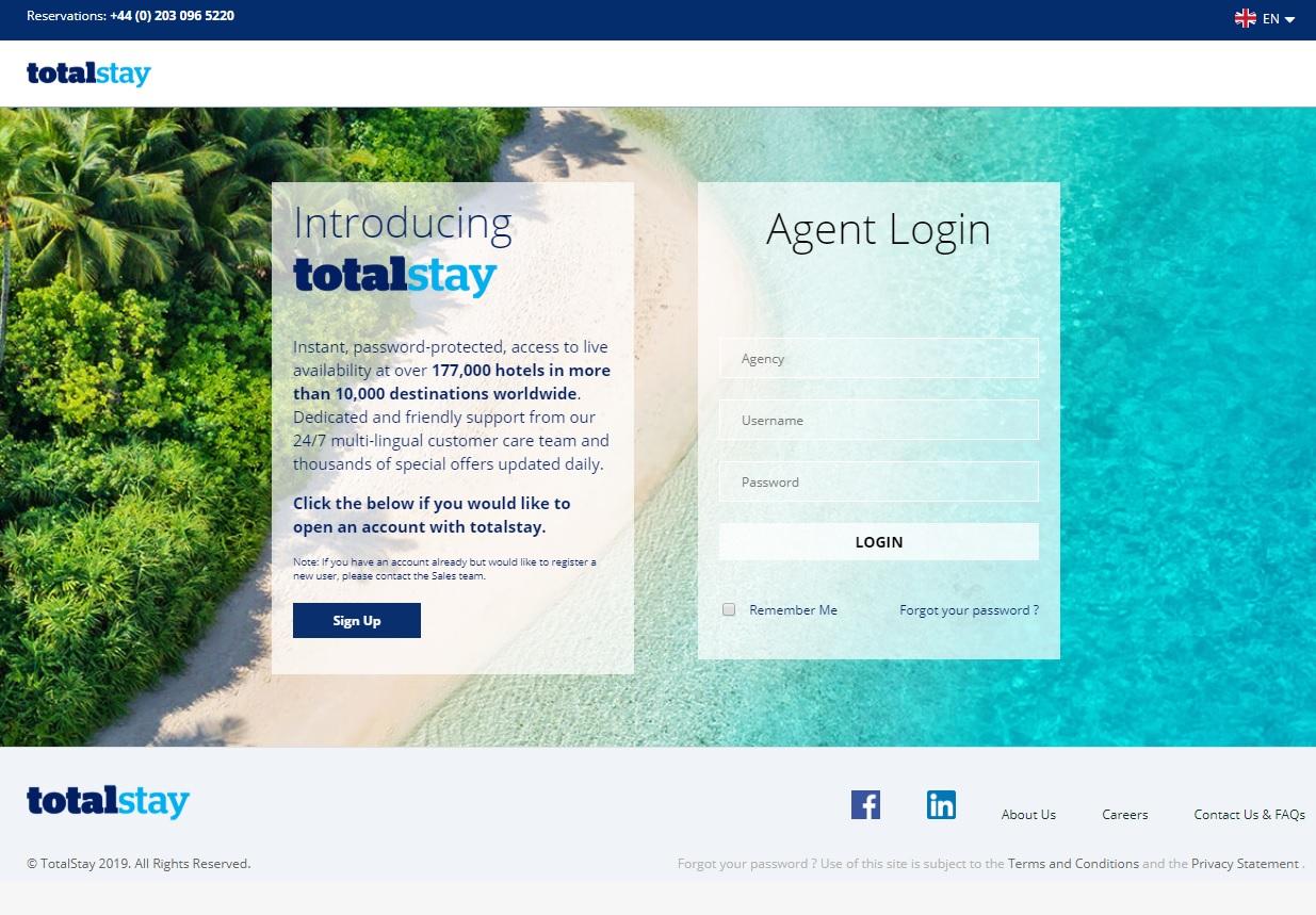 Le nouveau site Totalstay vient d'être mis en ligne - DR