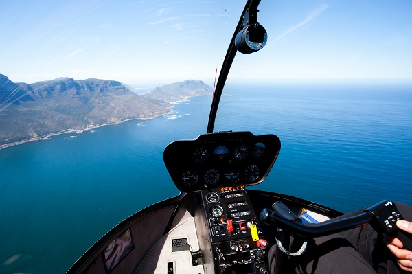 Wingly, le BlaBlaCar de l'aérien propose dorénavant des vols en hélicoptère - Crédit photo : Depositphotos @michaeljung