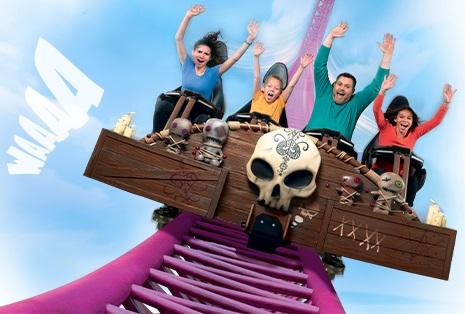 En 2019, deux nouvelles attractions ont vu le jour, dont Mystic, pour les amateurs de sensations fortes - DR : Walibi