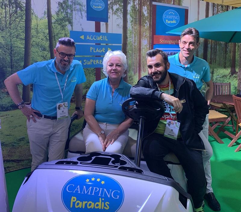 Parmi les fondateurs du réseau figurent Olivier Lachenaud, qui assurera la direction générale du projet « Camping Paradis ». Egalement Martine Granier, la co-fondatrice et Fréderick Gers, co-fondateur - DR : Camping Paradis