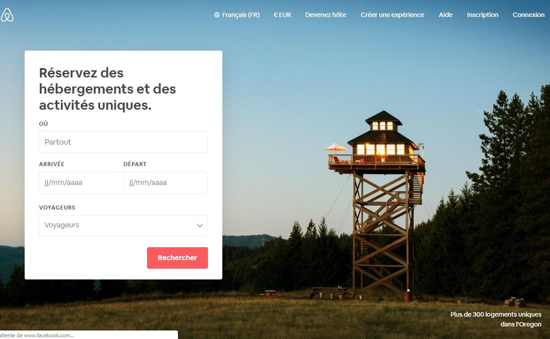 Airbnb va passer au peigne fin ses locations et celles présentées pour faire la fête seront désormais interdites ! - DR Capture écran