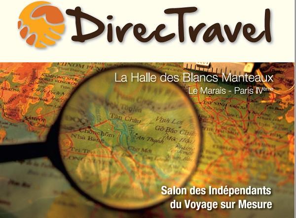 Le salon DirecTravel accueillera blogueurs et réceptifs en mars 2020 - DR