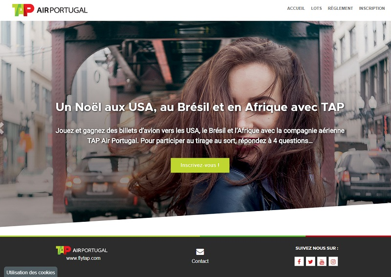 Tap Air Portugal fait gagner des billets d'avions sur ses lignes vers les USA, le Brésil et l'Afrique - DR