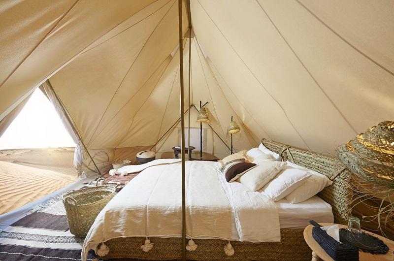 Le Magic Camps Wahiba Sands est composé de dix tentes d'environ 20 mètres carrés chacune. - DR Magic Travels