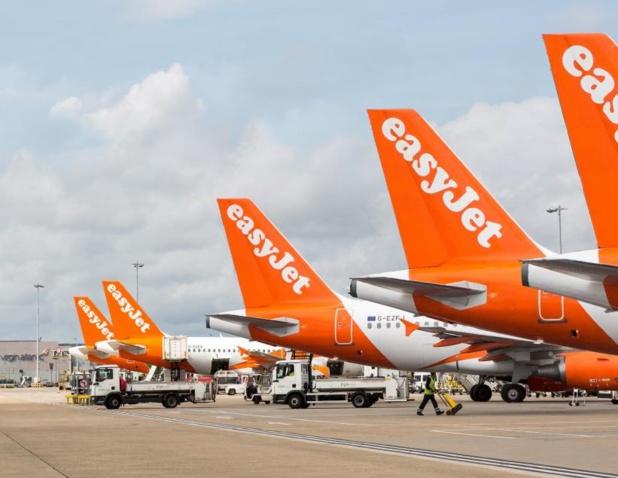 EasyJet compense les émissions de CO2 de tous ses vols depuis mardi 19 novembre ©EJ