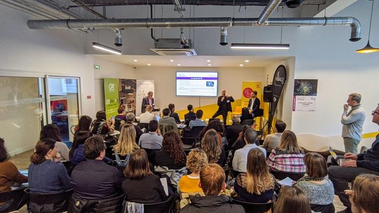 """""""a plupart des start-up sont des micro-projets qui couvrent des marchés de niche"""" selon Philippe Broix directeur du Tourisme Innovation Lab - Crédit photo : ESTHUA"""
