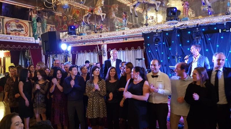 Les équipes du groupe Marietton - Photo CE