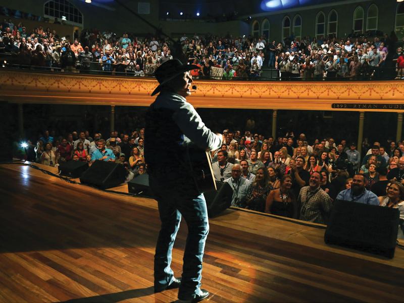 Ryman Auditorium à Nashville dans le Tennessee, Crédit photo Brand USA