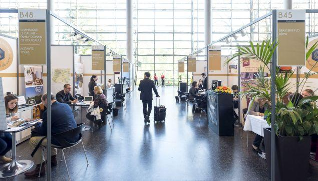 Dédié à l'oenotourisme, le salon Destination Vignobles réunit tous les deux ans près de 170 tour-opérateurs spécialisés du monde entier et plus de 130 exposants français.  - DR Atout France