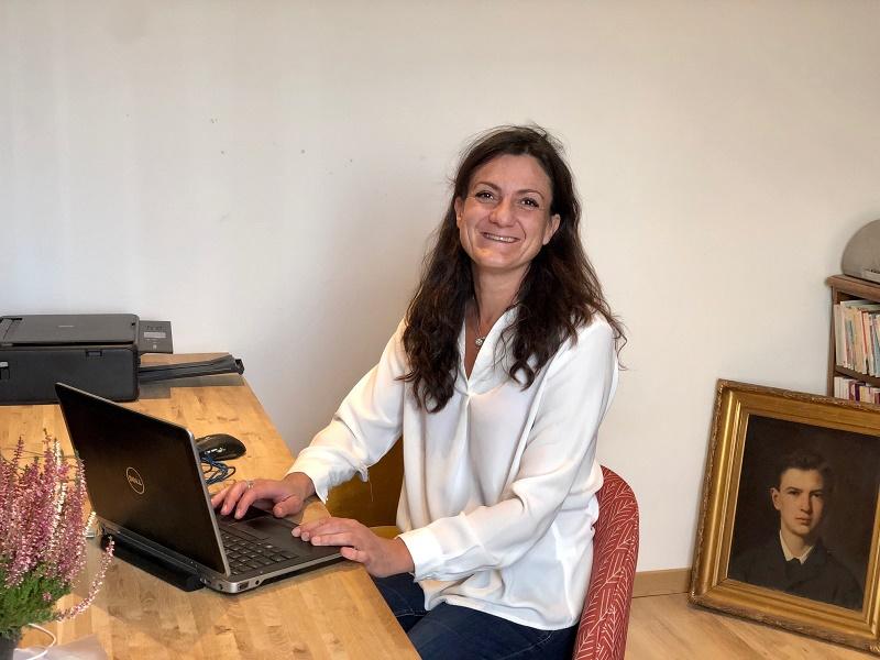 Annie Martinez en charge du bureau de Lyon de Meet and Com - DR