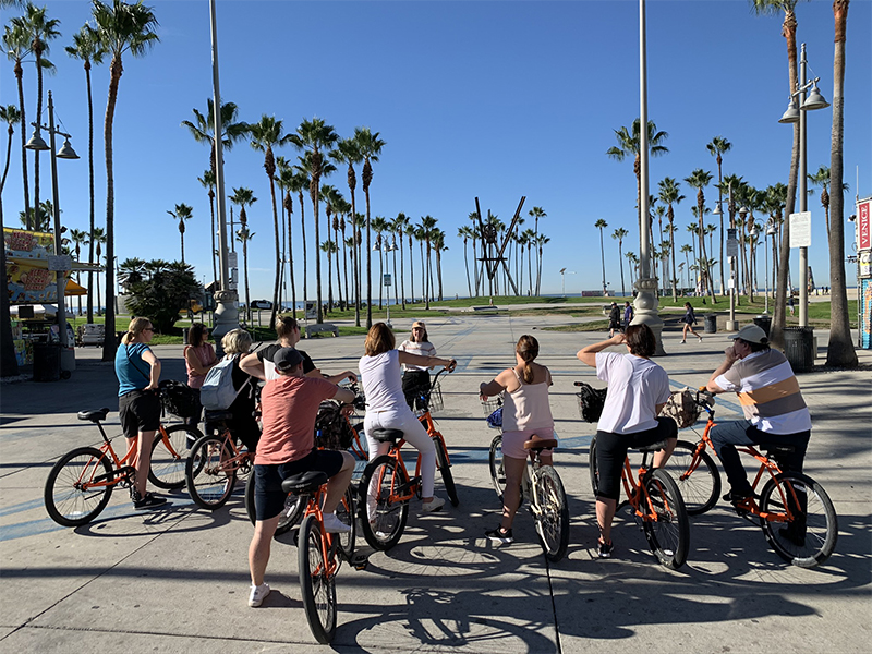 Visite guidée à vélo avec Los Angeles Off Road à Santa Monica et Venice Beach