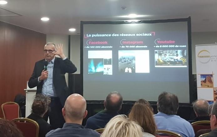 Emmanuel Grenier, PDG de Cdiscount au Forum du SETO - Photo CE
