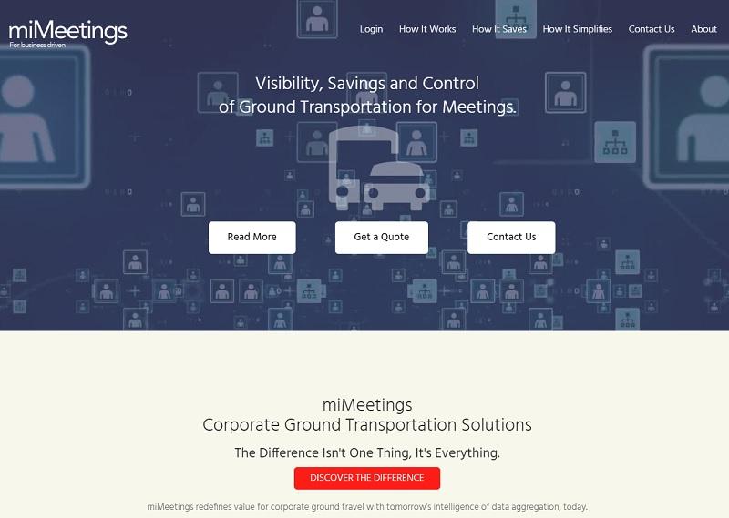 Meetings Ground Transportation permet de minimiser les erreurs d'information de vol, de regrouper de façon intelligente les participants pour optimiser les trajets et de sourcer les différents fournisseurs Meetings & Events sur place - DR : miMeetings