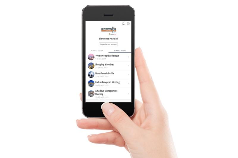 Selectour a lancé Smart, une application dédiée aux voyages d'affaires. Actuellement, deux back offices sur quatre - IGA et MB3M - sont opérationnels sur l'appli. Gestour est en train de finaliser les tests - DR : Selectour Affaires