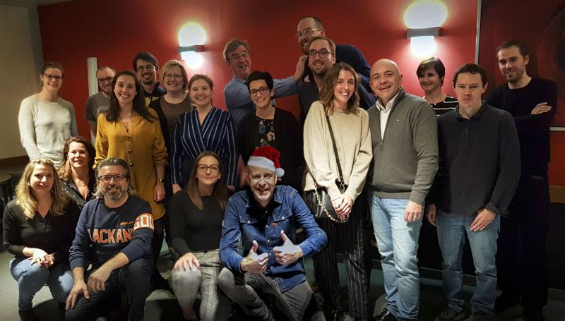 Christmas Party avec l'ensemble de l'équipe EURAM