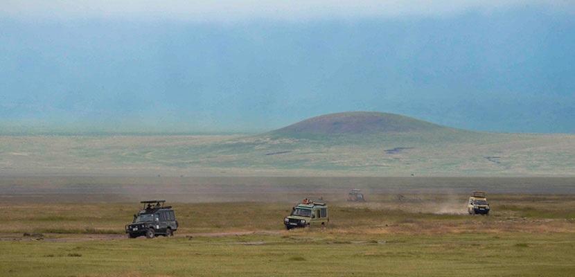 Depuis juin 2018, le réceptif a mis en service sept véhicules 4x4 de safari 100% électriques et 100% solaires (cinq 4x4 opérationnels, dont quatre à Grumeti Hills et un à Ormatai Rock, et deux pick-up en phase de test) - DR
