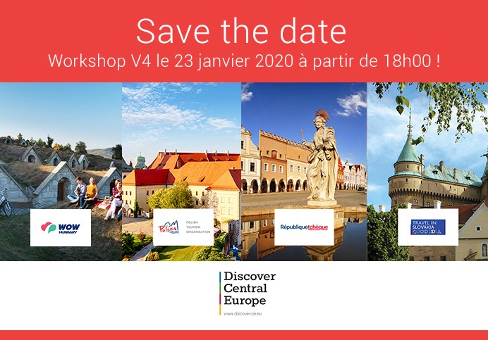 Workshop : l'Europe Centrale à l'honneur le 23 janvier 2020