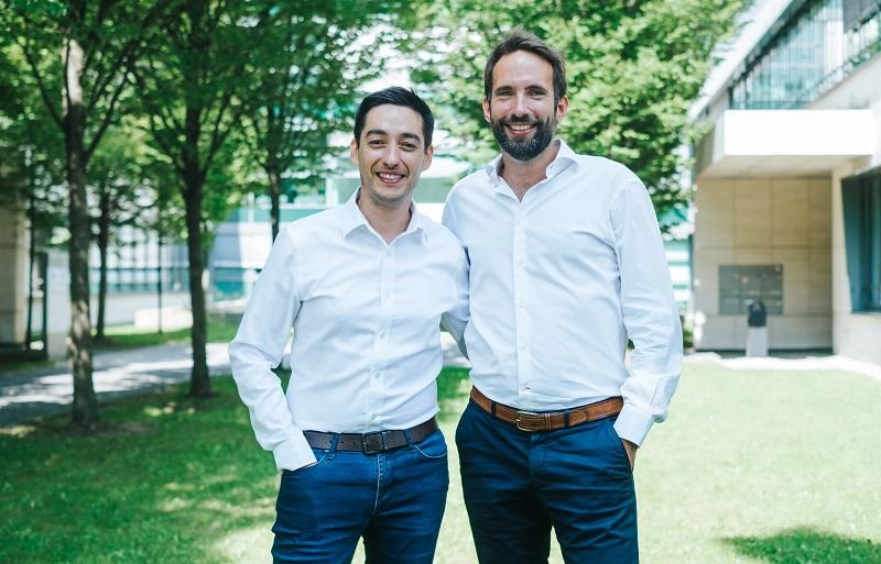 Cédric Lopez, directeur France et du développement international de la solution et Yann Maurer, l'un des deux co-fondateurs de Regiondo - DR : Regiondo