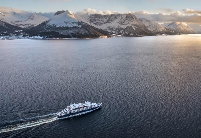 Le Bellot, en Norvège, proposera une croisière de 9 jours depuis Bergen, au-delà du cercle polaire Arctique, jusqu'en pays Sami - DR : Philip Plisson