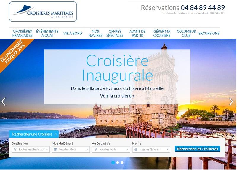 Croisières Maritimes & Voyages lance l'ouverture des réservations à bord du Jules Verne - DR