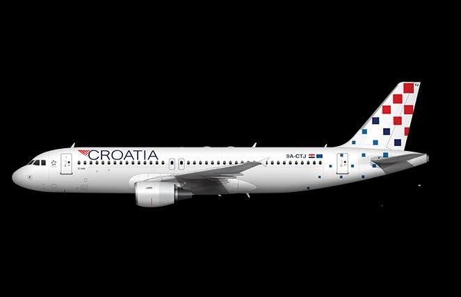 Le gouvernement croate a fixé un délai pour privatiser entièrement ou recapitaliser Croatia Airlines d'ici juin 2020 - DR