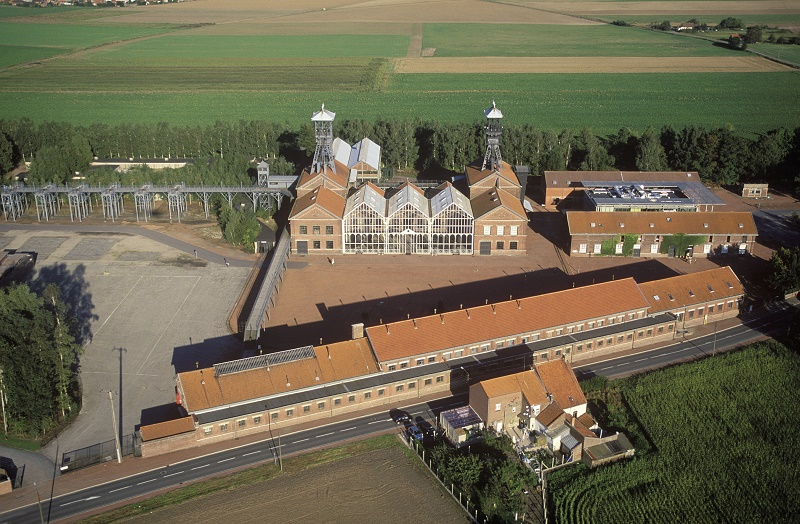 Archétype de l'architecture minière, le Centre se divise en trois départements complémentaires - DR : Centre Historique Minier