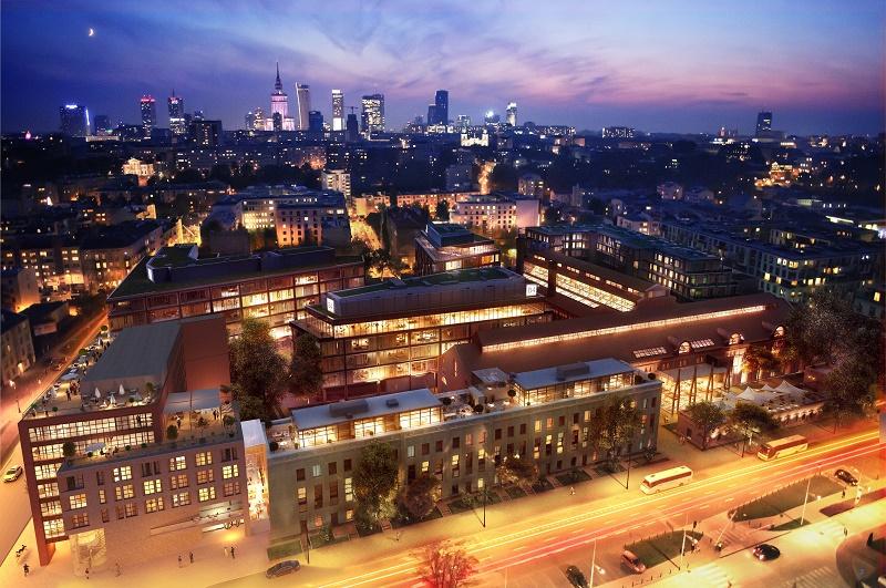 L'hôtel sera construit sur une superficie de 7 350 m² au sein du quartier de Powiśle - Photo Barcelo