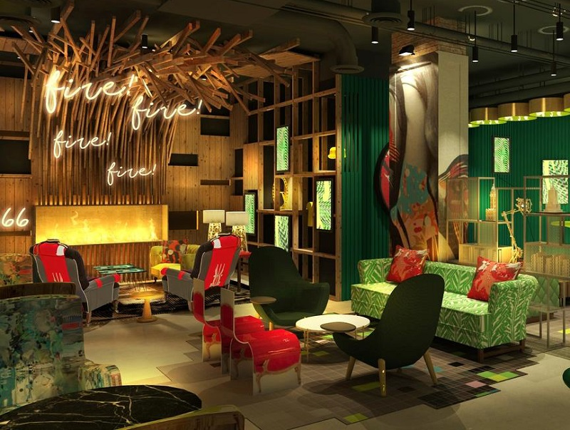 L'agence londonienne Project Orange a signé le design intérieur, qui s'articule autour du thème « London reloaded » - DR