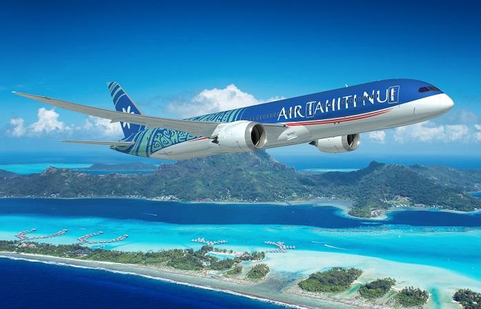 """""""Sur le salon DITEX, nous souhaitons avant tout mettre directement en relation nos fidèles agences de voyages avec nos meilleurs partenaires. AIR TAHITI NUI qui opère désormais sur de magnifiques Boeing 787 Dreamliner flambants neufs."""" - Photo Air Tahiti Nui"""
