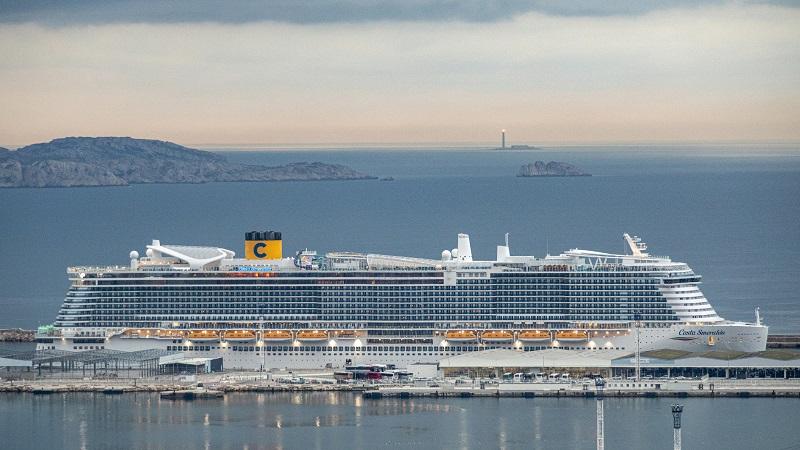 Le Costa Smeralda assurera des itinéraires en Méditerranée à compter de mai 2020 - DR : Costa/Francois Jonniaux