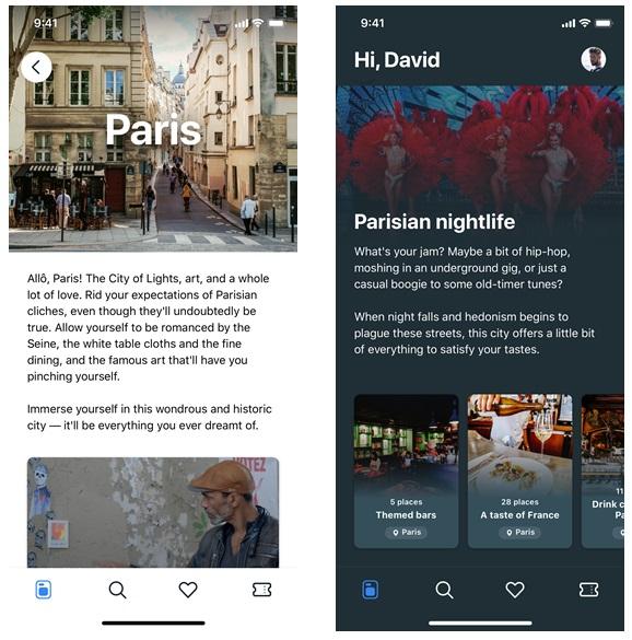 Il s'agit d'un guide numérique interactif dopé à l'intelligence artificielle qui suggère des idées de lieux et d'expériences, mais qui permet aussi d'organiser ses visites et de rechercher des itinéraires. - DR