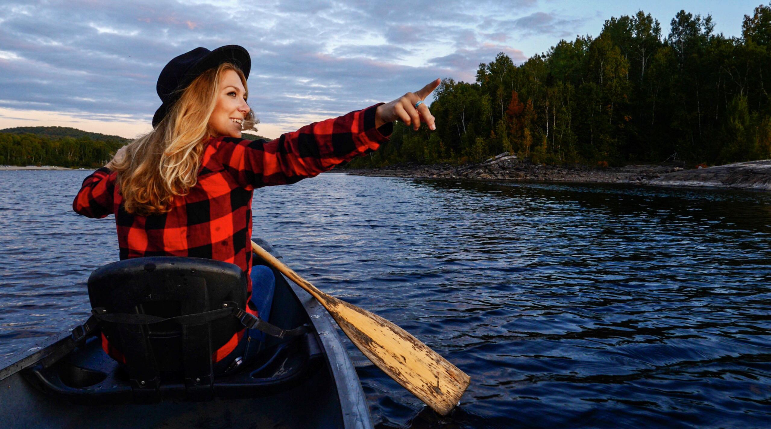 Laurie Médina a exploré Abitibi-Témiscamingue, le «far-west» du Québec, afin de montrer sa nature sauvage et ses paysages préservés /crédit photo LM