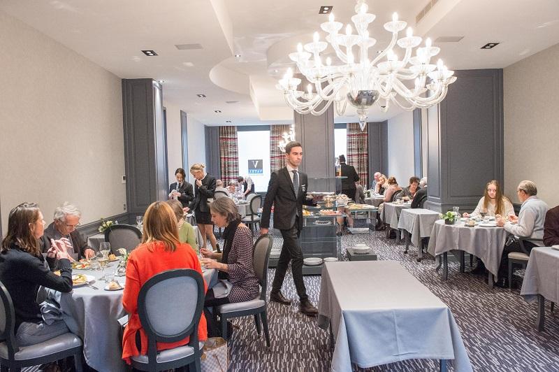 Le campus Vatel de Lyon dispose de son restaurant d'application où les étudiants sont au contact de véritables clients - DR : Vatel/NoelBouchut