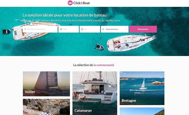 Un volume d'affaires de 50 millions d'euros pour Clic&Boat en 2019 - DR
