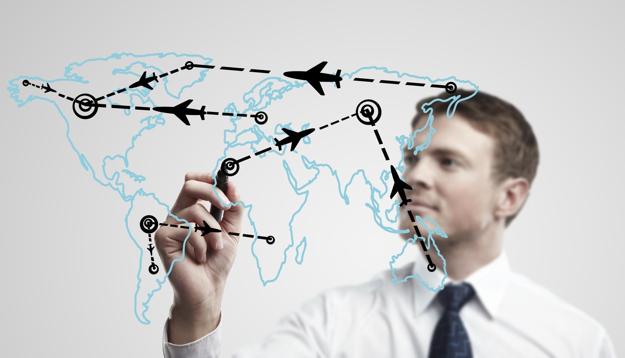 Sans transport aérien il n'y a pas de tourisme… /crédit DepositPhoto