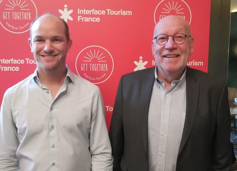 Blaise Borezee, directeur général et Gaël de la Porte Du Theil fondateur d'Interface Tourism - Photo DR