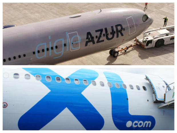 Les faillites d'XL Airways et d'Aigle Azur, en septembre 2019, alimentent toujours le débat autour d'une caisse de garantie pour les passagers ©DR