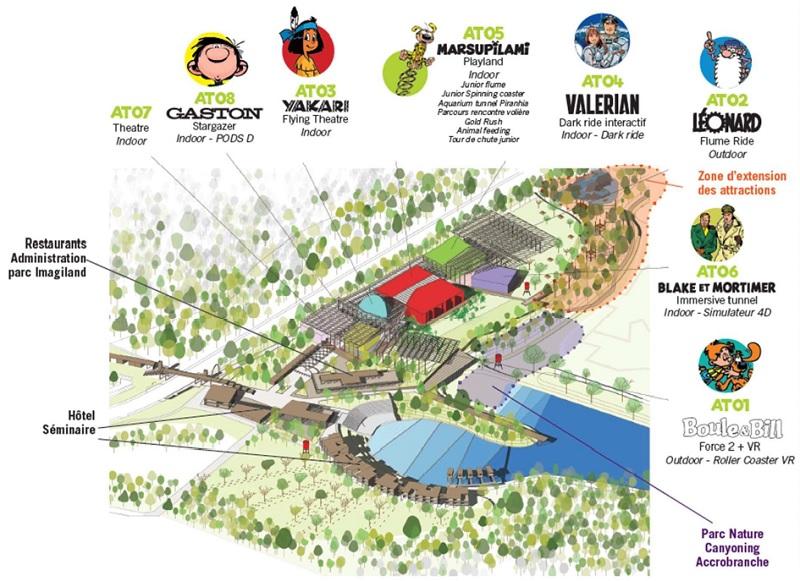 De Gaston à Black et Mortimer, passant par le Marsupilami 7 univers BD seront représentés à Imagiland - DR