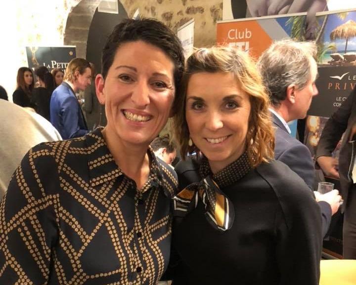 Valérie Guirao et Marine Desrumaux les deux co-fondatrices de la Petite Voyagerie - DR