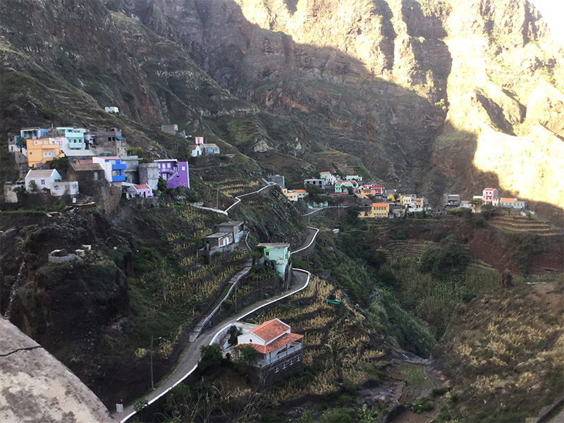 Santo Antao - DR : Cabo Verde Airlines