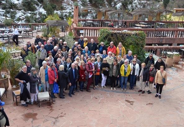 Les membres de l'AFST dans la vallée de l'Ourika - DR