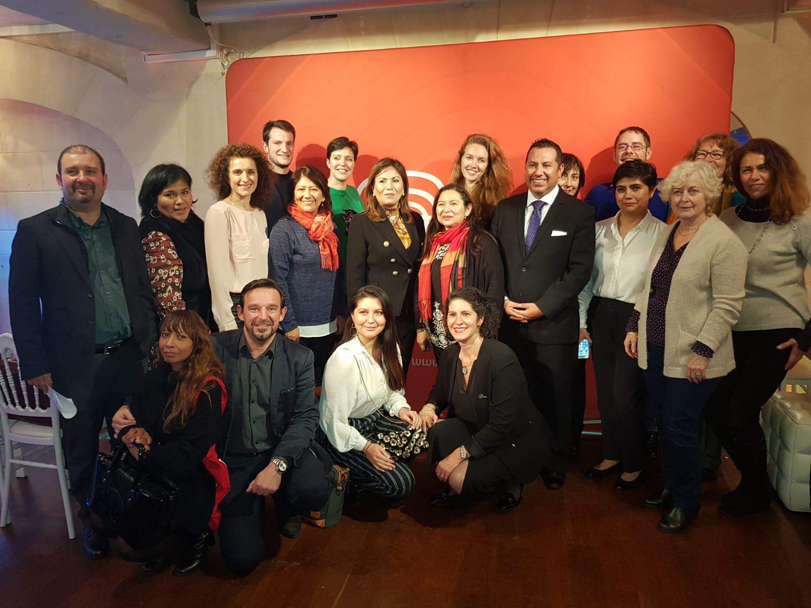 Le workshop Pérou a rassemblé plus d'une centaine de personnes à Paris - DR