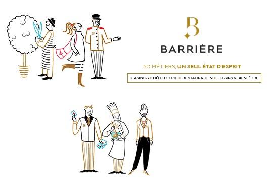800 saisonniers à recruter dans les établissements Barrière - DR