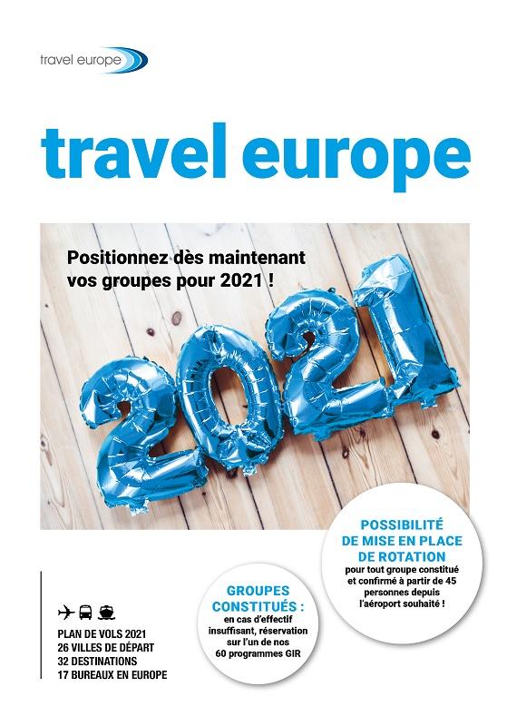 Travel Europe : une partie de l'offre pour 2021 déjà ouverte à la réservation
