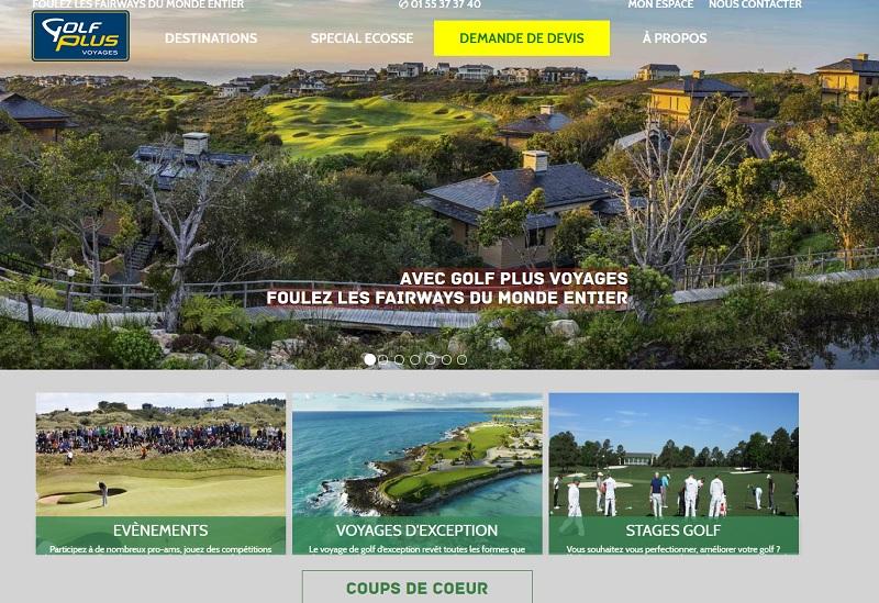 Golf Plus Voyages veut mettre l'accent sur les voyages itinérants de golf, en privilégiant des combinés entre différents parcours et des activités spécifiques dédiées aux non-golfeurs - DR : Golf Plus Voyages