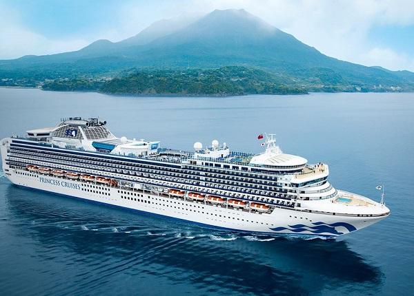 Une quarantaine étendue jusqu'au 19 février pour les 3 700 passagers - Crédit photo : Princess Cruises