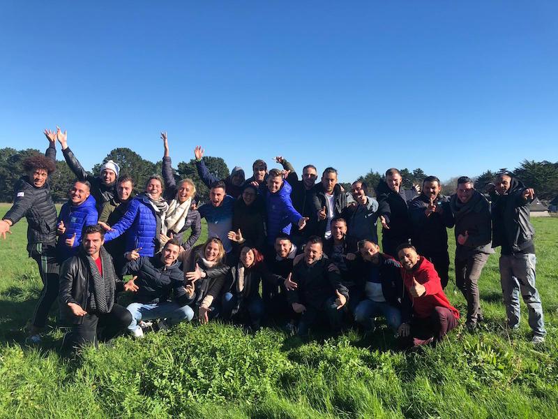 TUI a réuni en séminaire la promotion 2020 de ses responsables loisirs des clubs Marmara, formés dans son école de formation partenaire Klaxon Rouge.  – DR :  TUI