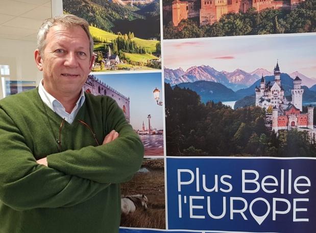 Frédéric De Fournoux PDG de Plus Belle l'Europe - DR