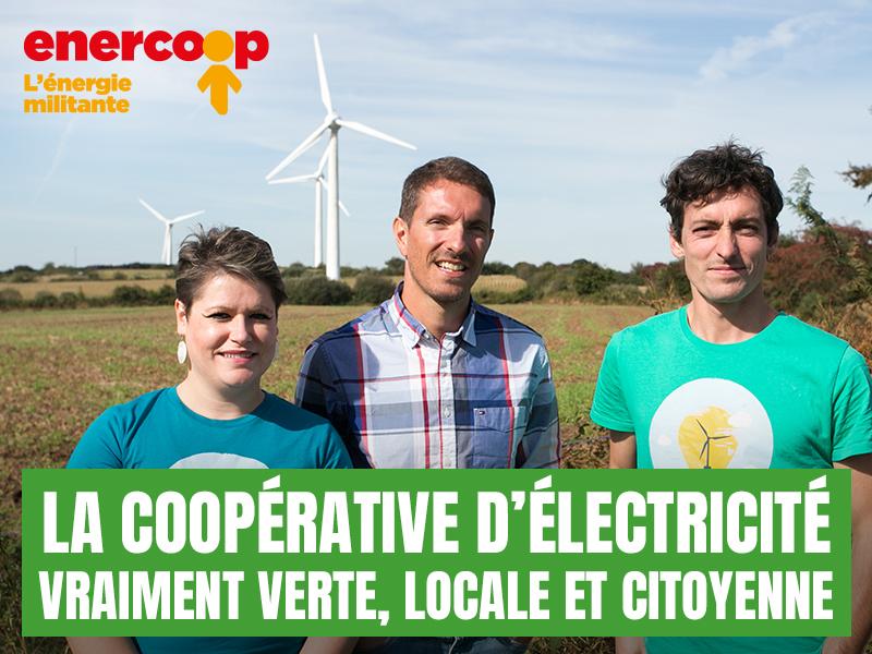 Parc éolien de Plougras, Enercoop Bretagne - DR : OMC