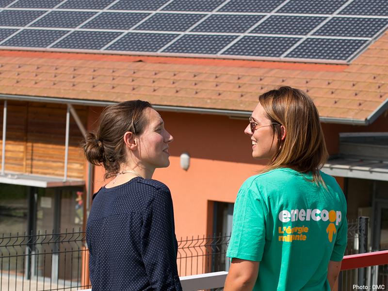 Inauguration du parc solaire d'Auterive - DR : Enercoop